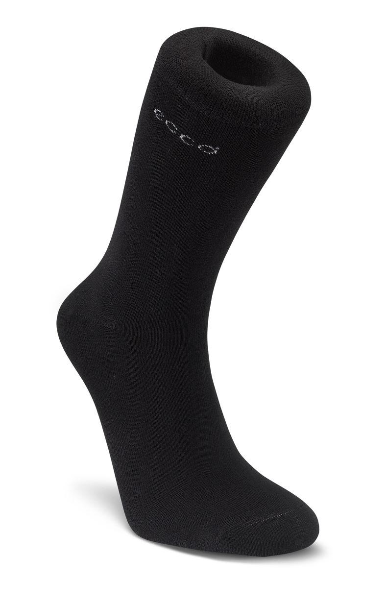 Bamboo Crew Sock (Nero)
