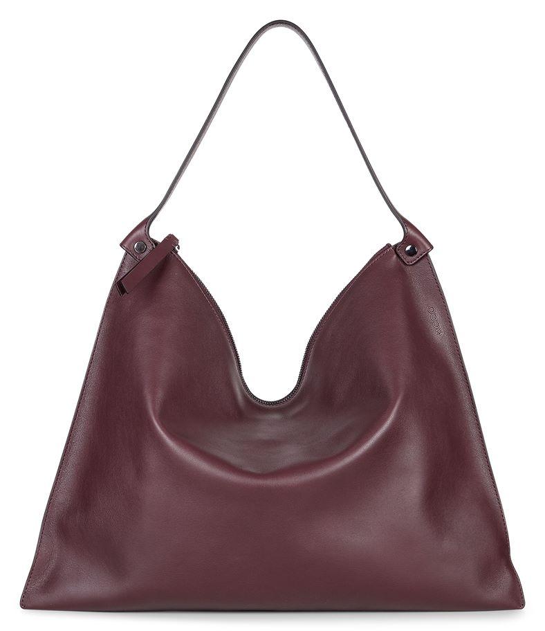 Sculptured Shoulder Bag (Red)