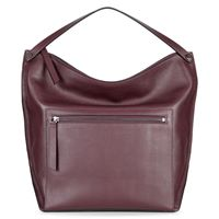 Sculptured Hobo Bag (Red)