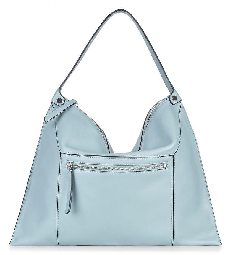 Sculptured Shoulder Bag 2 (Blue)