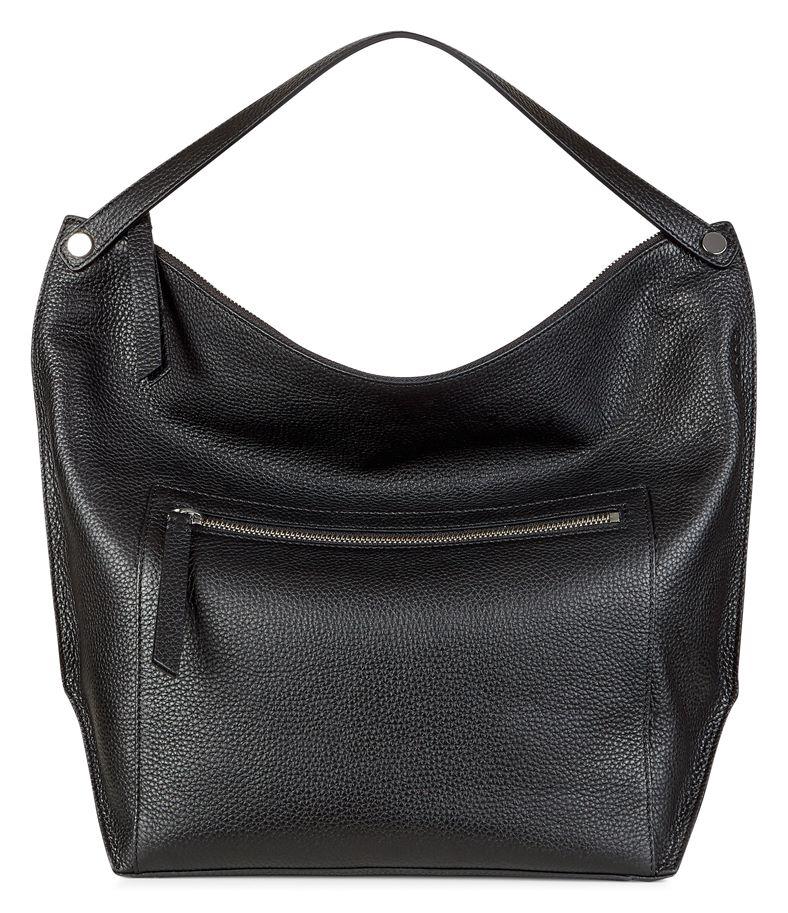 Sculptured Hobo Bag (Nero)
