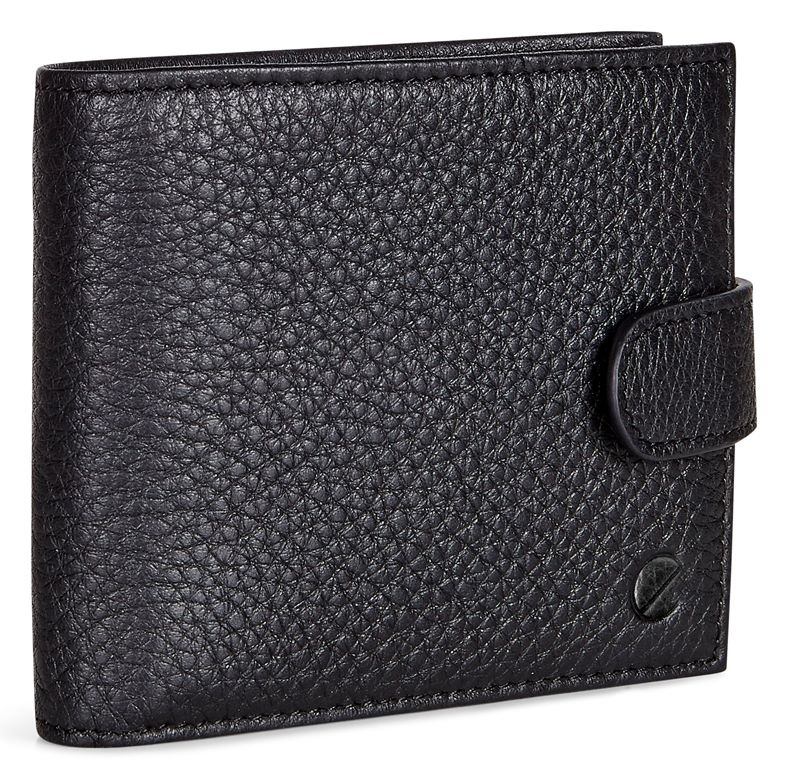 Jos Flap Wallet w tab (Black)