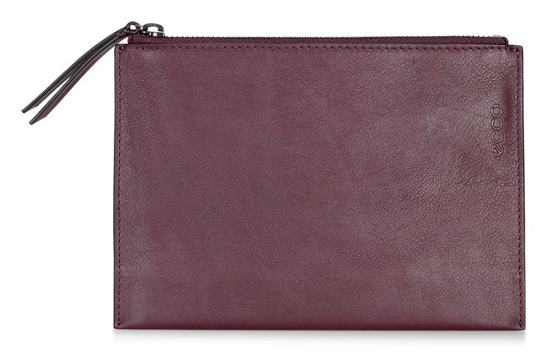 Sculptured Small Clutch (Rosso)