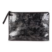 Sculptured Clutch (Black)